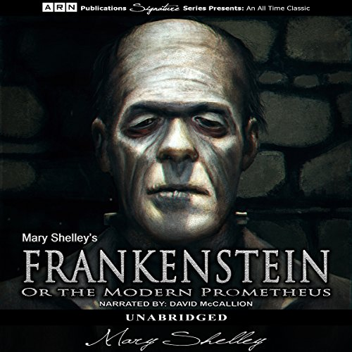 Page de couverture de Frankenstein, or The Modern Prometheus