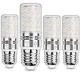 HZSANUE E27 Bombillas Maíz LED 12W, LED Bombillas Candelabros, 3000K Blanco Cálido, 1200LM, Bombillas Incandescentes de 100W Equivalentes, No Regulable, Paquete de 4