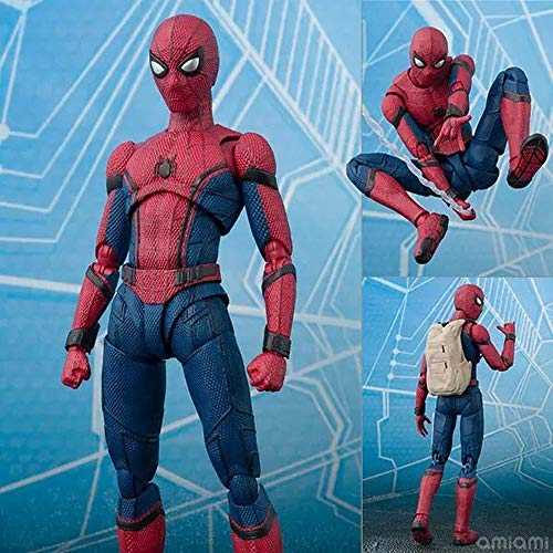 The Amazing Spider-Man:Homecoming Spiderman Sculpture Enfants Jouets Figurine Enfants Cadeaux- 17cm