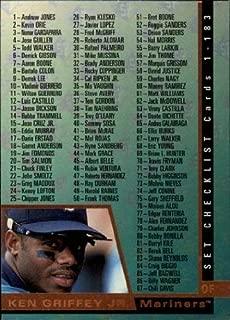 1997 SP #183 Ken Griffey Jr. CL MLB Baseball Trading Card