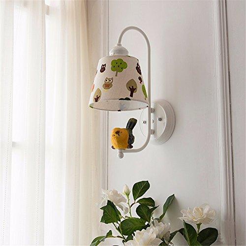 JJZHG wandlamp wandlamp wandlamp nachtlampje woonkamer slaapkamer slaapkamer creatieve kleur wandlamp voor kinderen, warm licht omvat: wandlampen, wandlamp met leeslamp, wandlamp met stekker