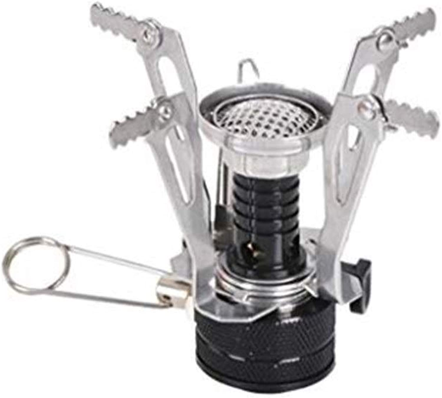 Camping Cooking Utensil Camping Stove, Outdoor Portable Stove Multifunction Burner 3000w Micro Ultralight Practical Stove Head With Piezoelectric Autoignition Suitable For Outdoor Camping Grill Sto
