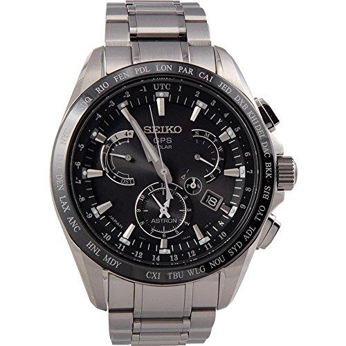 Reloj Seiko Astron Sse045j1 Hombre Negro