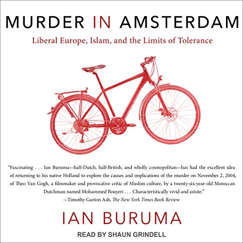 Murder in Amsterdam audiobook cover art