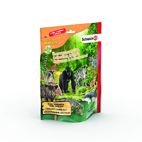 Schleich Wild Life Serie 4 Überraschungstüte 3 Sammelfiguren