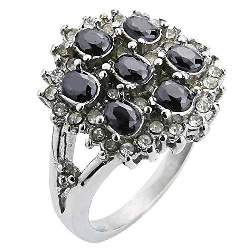 Valily vrouwen trouwring goud groen/rode steen crystal ringen dame roestvrij staal verlovingsring deel voor meisjes cadeau