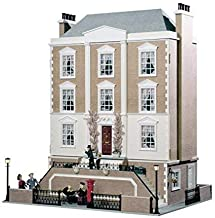 Melody Montgomery Hall Dollhouse & Basement Unpainted Flat Pack Kit 1:12 Scale
