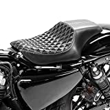 883/1200/Forty Eight 1200X 48/XLX Iron Super Low Nightster Dep/ósito de gasolina para Harley Davidson Sportster XL 12/L inyecci/ón aumentada