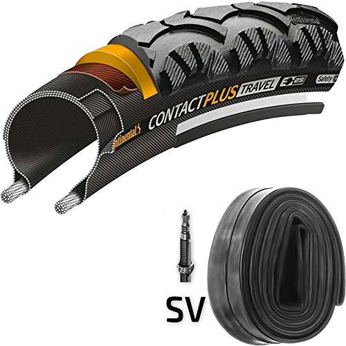 test Continental Contact Plus Travel E25 28 x 1,6 Zoll Reifen + 42-6 22 mm reflektierende Kamera Deutschland