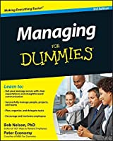 Managing For Dummies by Bob Nelson Peter Economy(2010-07-06)