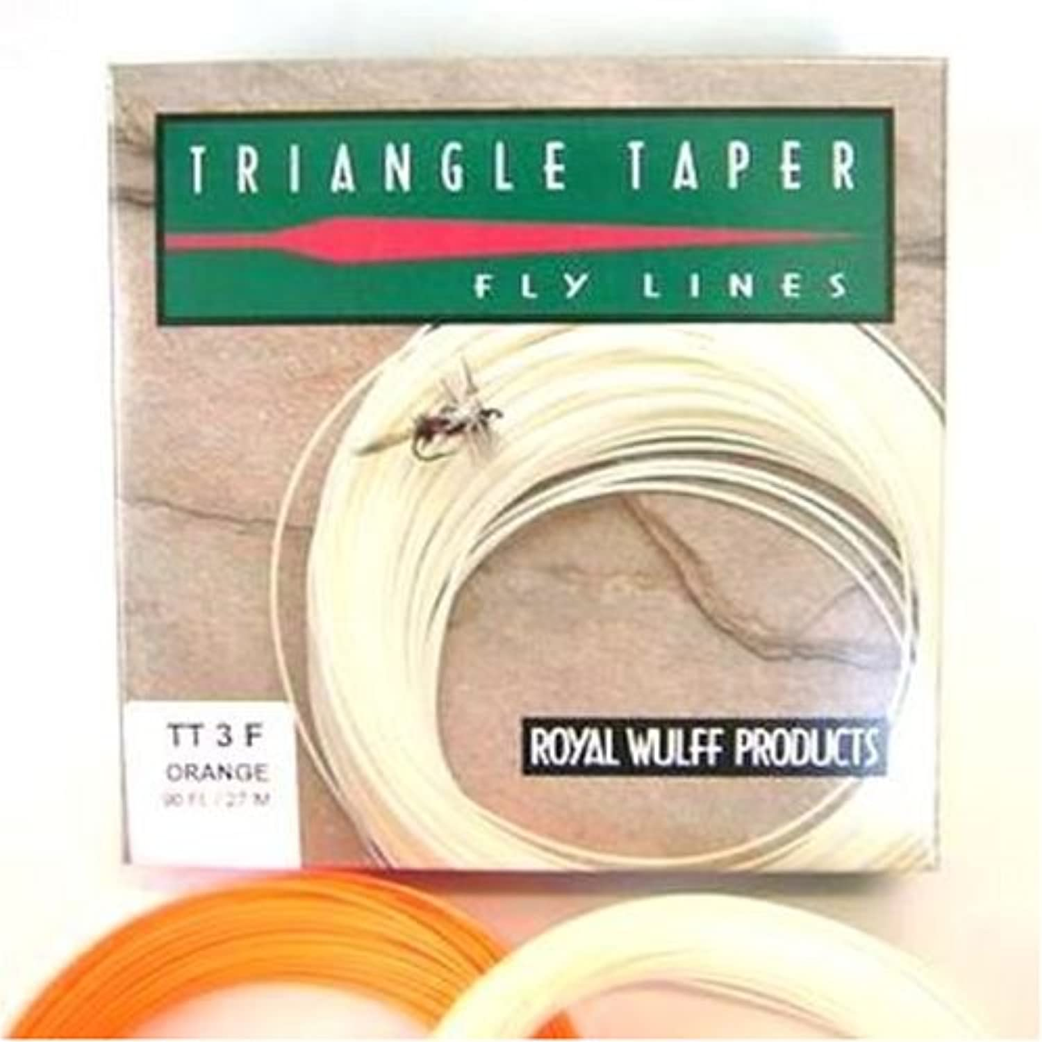 (9F, Ivory)  Royal Wulff Triangle Taper Floating Classic Fly Line