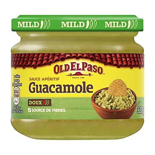 Old El Paso Sauce Apéritif Guacamole Doux 320g (lot de 4)
