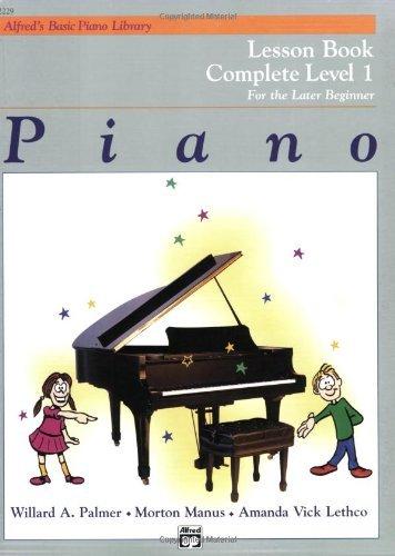 6. Piano Lesson Book: Complete Level 1