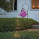 Regadera, cadena de luces, Star Shower Garden Art Regadera con luces, Star Shower Garden Art Light Decoration Lámpara LED para verter de cielo estrellado, lámpara de césped al aire libre