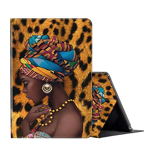 Kindle Paperwhite Case (10th Generation, 2018 Version), Multi-Angle Viewing Folio Stand Smart Cover Cases for Amazon Kindle Paperwhite 10th Gen 2018 eReaders 6 inch-African American Girl