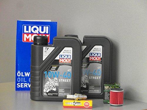 Kit d'entretien Yamaha YFM 250 Raptor inspection huile filtre à huile bougie d'allumage service