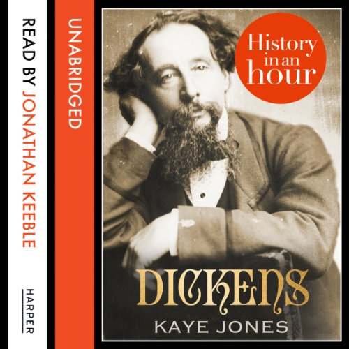 Dickens: History in an Hour audiobook cover art