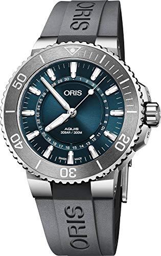 Oris Aquis Source of Life - Reloj de acero para hombre