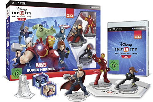 Disney Infinity 2.0: Marvel Super Heroes Starter-Set - [Playstation 3]