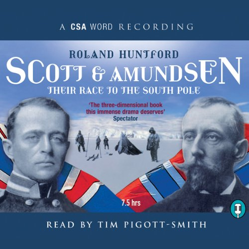 Scott and Amundsen audiobook cover art