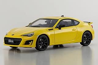 Kyosho Subaru BRZ GT, Yellow KSR18027Y - 1/18 Scale Collectible Resin Model Car