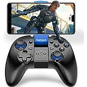 PUBG Mobileコントローラー BEBONCOOL スマホ コントローラー ワイヤレス PUBG Mobile ゲームパット Android/iOSに対応 携帯用 コントローラー