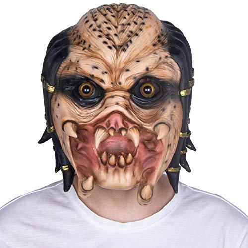 JNKDSGF Horror maskAlien Predator Eenzame Wolf Masker Volledig Gezicht Masker Halloween Party Cosplay Horror Mask