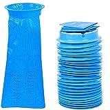 25 bolsas desechables para vómitos, bolsas azules de emesis, bolsa para aviones y carros, bolsas de náuseas para viajes, movimiento de enfermedad, bolsa de barbacoa