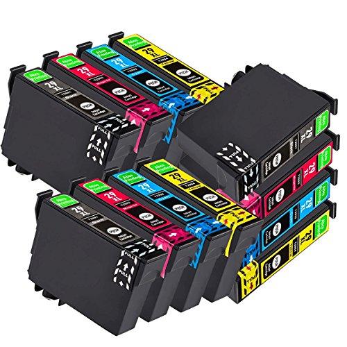 Abcs Printing compatibile Cartucce d 'inchiostro sostituzione per Epson 29 XL, Alta Capacità Compatibili con Epson Expression Home XP-235/XP-245/XP-247/XP-332/ XP-335/XP-342/XP-345/XP-432/XP-435/XP-442/XP-445 (3 Nero,3 Ciano,3 Magenta, 3 Giallo)