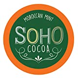 Soho Morocan Mint Hot Chocolate Pods for Keurig K-Cup Brewers, 100 Count