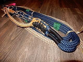 Alligator EPT Bull Ropes - Bull Rope Navy Blue Custom PRO 9x7 RH Bull Riding