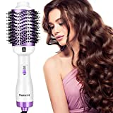 Damenie Ionen-Haartrockner,Upgrade 5 in 1 Stylingbürste Hair Dry und Volumizer Styler Negativer...
