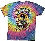 Ripple Junction Grateful Dead Bertha Deco Frame Adult T-Shirt XL Multicoloured