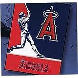 Biederlock Los Angeles Angels Blanket Throw King Size Plush Oversized New