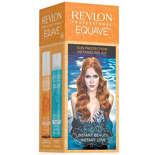 Revlon Equave Instant Beauty Sun Protection Duo Pack Shampoo 250 ml & Conditioner 200 ml für sonnengestresstes Haar