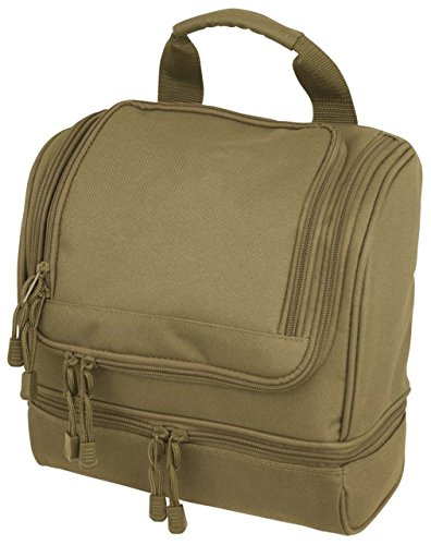 Code Alpha Tactical Gear Toiletry Kit, Coyote, 10in.x10in.x5in.