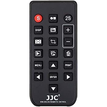 JJC RM-DSLR2 Wireless Remote Control For Sony A6000 A77II a7 a7R NEX 5T A99 A57 NEX 5R NEX 6 A65 A77 NEX 5N NEX 7 A290 A390 A450 A560 A580 A33 A55 NEX5 A230 A500 A330 A380 A550 A850 A900 A700 Replaces SONY RMT-DSLR1 RMT-DSLR2 +JW emall Micro Fiber Cleaning Cloth