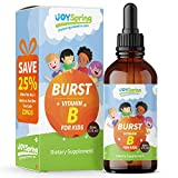 B12 Vitamins for Kids- Vitamin B Complex for Energy- Great Tasting B2 Vitamin, B3 Vitamin, B6 Vitamin, B12 Vitamin Liquid Drops for Picky Eaters