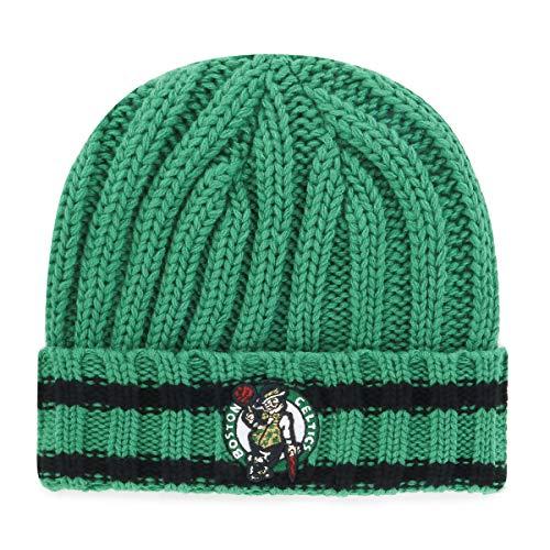 OTS NBA Boston Celtics Men's Bure Cuff Knit Cap, Team Color, One Size