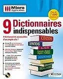 9 Dictionnaires Indispensables -