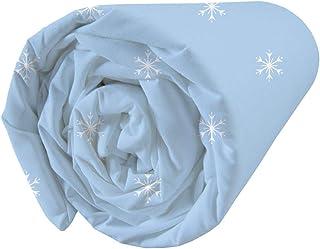 La Reine des Neiges Wind Spirit Drap Housse 100% Coton 90 x 190 cm 046955 Blanc Petit Single
