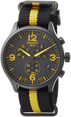 Tissot Men's Chrono XL Tour De France Collection - T1166173705700 Silver/Yellow/Black One Size