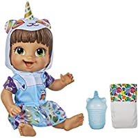 Baby Alive Brown Hair Tinycorns Doll