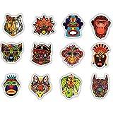 Immagine 2 zfhh 50pcs ethnic totem sticker