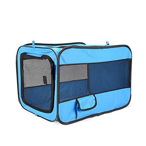 GBY huisdier tas, Oxford doek vouwbare draad tas, huisdier hek draagbare auto huisdier hond kooi, 60 * 42 * 42cm