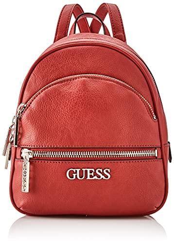Guess Damen SMALL Backpack Manhattan Kleiner Rucksack, Lip, Taglia Unica