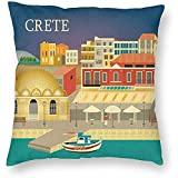 DayToy Stil Griechenland Kreta Skyline World Travel Art