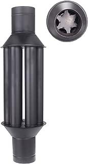 estufa de pellets tubo Kit tubos de 80 mm de acero INOX 316 L 600 /° CE negro NO resistente Hecho en Italia 1856-2