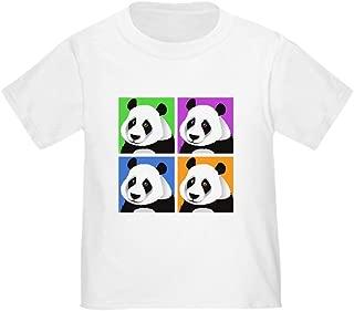 Panda Bear Squares Toddler T-Shirt Toddler Tshirt