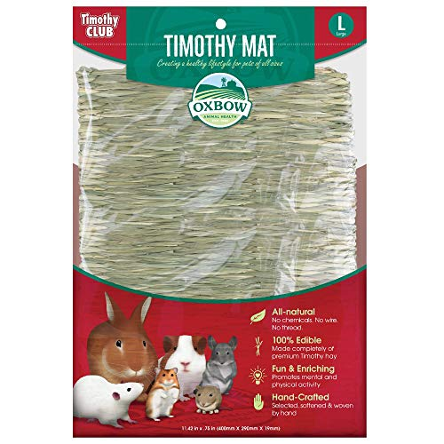 Oxbow Animal Health Timothy Club Timothy Mat for Pets, Large